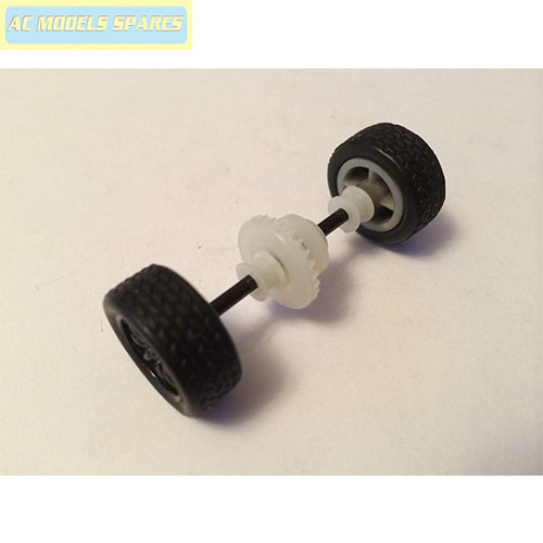 W10616 Scalextric Spare Rear Axle Assembly For Caterham