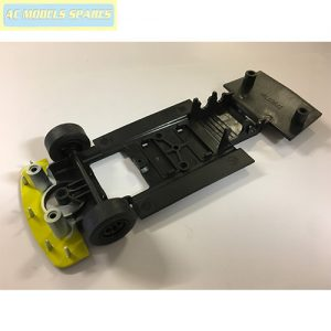 W8730 Scalextric Spare Underpan /& Front Wheel Assembly for TVR Tuscan