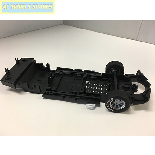 W8760 Scalextric Spare Chassis And Front Axle Assembly For